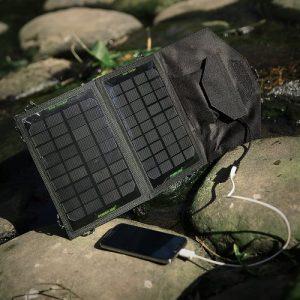 Solar panel charging