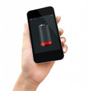 discharging phone
