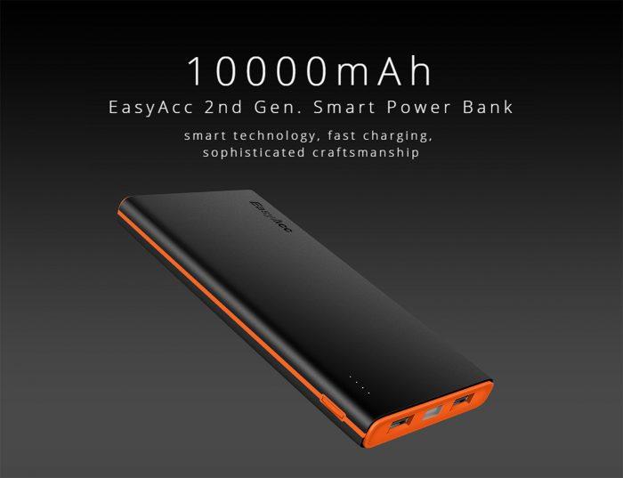 EasyAcc 10000mAh baterija 17