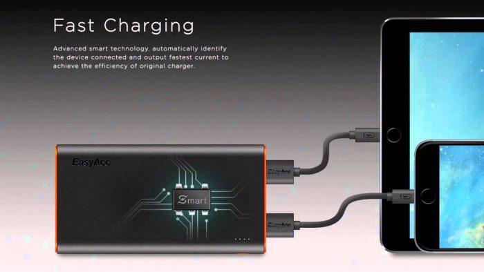 EasyAcc 10000mAh baterija 7